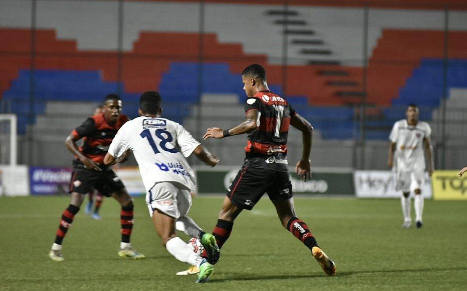 Técnico do Vitória avaliou o desempenho do time na Areja Cajueiro