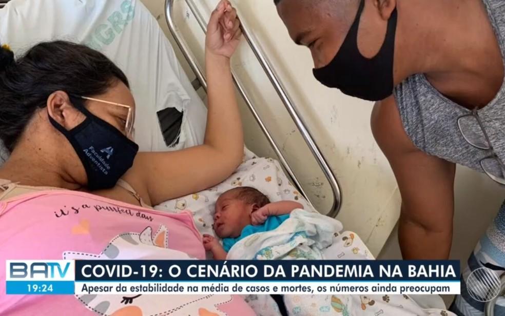 Recém-nascido com menos de um mês morreu em decorrência da Covid-19